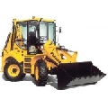 Buldoexcavator cu 4 roti viratoare 6600 kg