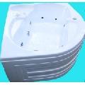 Cada baie colt cu hidromasaj