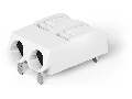 THR PCB terminal block; push-button; 1.5 mm; Pin spacing 6 mm; 2-pole; Push-in CAGE CLAMP; in tape-and-reel packaging; 1,50 mm; white