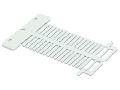 Marker card; for IP200 plotter; for use in nozzles; Length: 23 mm; white