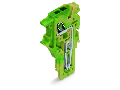 End module for 1-conductor female connector; 1.5 mm²; 1-pole; 1,50 mm²; green-yellow