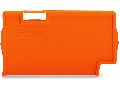 Separator plate; 2 mm thick; oversized; orange