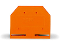 End and intermediate plate; 2.5 mm thick; orange