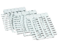 Marker card; for IP200 plotter; for use in nozzles; Length: 12 mm; white