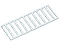 Mini-WSB marking card; as card; MARKED; 10 ... 19 (10x); not stretchable; Horizontal marking; snap-on type; white