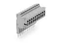 Modular TOPJOBS connector; modular; for jumper contact slot; 10-pole; 2,50 mm; gray