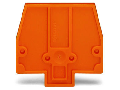 Separator plate; 2 mm thick; oversized; orange