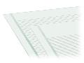 Marking strips; as a DIN A4 sheet; MARKED; 1 - 16 (40x); Strip width 6 mm; Strip length 182 mm; Horizontal marking; Self-adhesive; white