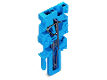 End module for 1-conductor female connector; 4 mm²; 1-pole; 4,00 mm²; blue
