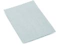 Marker card; as a DIN A4 sheet; plain; white