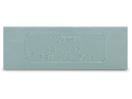 Step-down intermediate plate; 1 mm thick; \