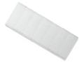 Marker card; white