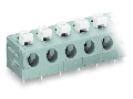PCB terminal block; push-button; 2.5 mm²; Pin spacing 7.5 mm; 12-pole; Push-in CAGE CLAMP®; 2,50 mm²; gray