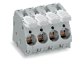 PCB terminal block; lever; 16 mm; Pin spacing 10 mm; 8-pole; CAGE CLAMP; 16,00 mm; gray