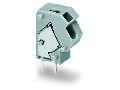 Stackable PCB terminal block; 2.5 mm; Pin spacing 7.5/7.62 mm; 1-pole; suitable for Ex-i applications; PUSH WIRE; 2,50 mm; blue