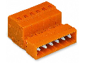 1-conductor male connector; 2.5 mm²; Pin spacing 5.08 mm; 13-pole; 2,50 mm²; orange