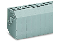 Transformer terminal block; 6-pole; CAGE CLAMP® connection for conductors; 4,00 mm²; orange