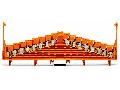 8-level same potential terminal block; for 35 x 7.5 mounting rail; 1,50 mm²; orange