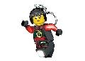Breloc cu lanterna LEGO Ninjago Nya  (LGL-KE78)