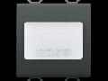AUTONOMOUS EMERGENCY LAMP - 230Vac 50/60Hz 1h - 2 MODULES - BLACK - CHORUS