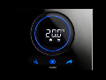 THERMO ICE WI-FI THERMOSTAT- WALL-MOUNTING - BLACK - CHORUS