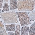 Masa gratar + chiuveta - Placata cu piatra poligonala Rhodos