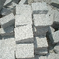 Piatra Cubica Granit Bianco Sardo Natur 10 x 10 x 5 cm