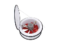 Ventilator 095-001-0250 /HL 961