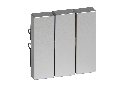 Clapeta 3-Porturi, Aluminiu, Sistem M