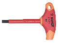 Chei in T izolate la 1000 V 4mm, 109.5mm, 75mm, 80mm, 430g
