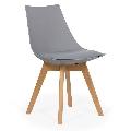 Scaun living cu picioare din lemn BUC 245