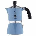 Espressor pentru aragaz Bialetti, capacitate 3 cupe, Seria Fiammetta, blue