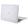 Carcasa protectie slim pentru laptop Apple MacBook Pro 13 inch, (non) TouchBar, plastic, semi-transparent, model 2016-2019