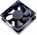 Akasa - Ventilator Black Fan (Thermal Sensor) 80mm