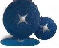 Disc fibra vulcanica hermes cu granule de zirconiu 115 mm 125 mm 180 mm