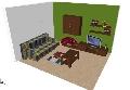 Mobila sufragerie - varianta living