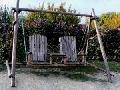 Mobilier pentru gradina - Balansoar rustic