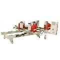 Utilaj automat sudat profile PVC 4 capete orizontal