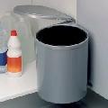 Cos gunoi plastic gri