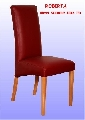 Scaun tapitat din lemn masiv Roberta