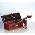 Cutie cu accesorii de vin Alsace www.sensis.ro