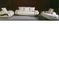 Set canapele 3-2-1 cu piele naturala
