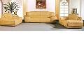Set canapele din piele naturala