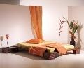 Pat dublu PAULO - din lemn masiv de pin