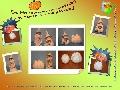 figurine de colorat/de pictat din ipsos - Halloween