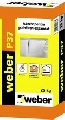 Adeziv polistiren Weber P37 pentru lipire