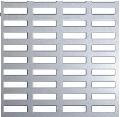 Perforatii rectangulare