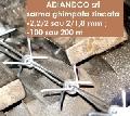 sarma ghimpata zincata 2,2mm ; 100 m (10kg)