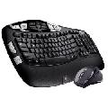 Kit Tastatura + Mouse Logitech Cordless Desktop Wave Pro
