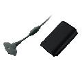 Microsoft Play & Charge Negru Kit pentru XBOX 360